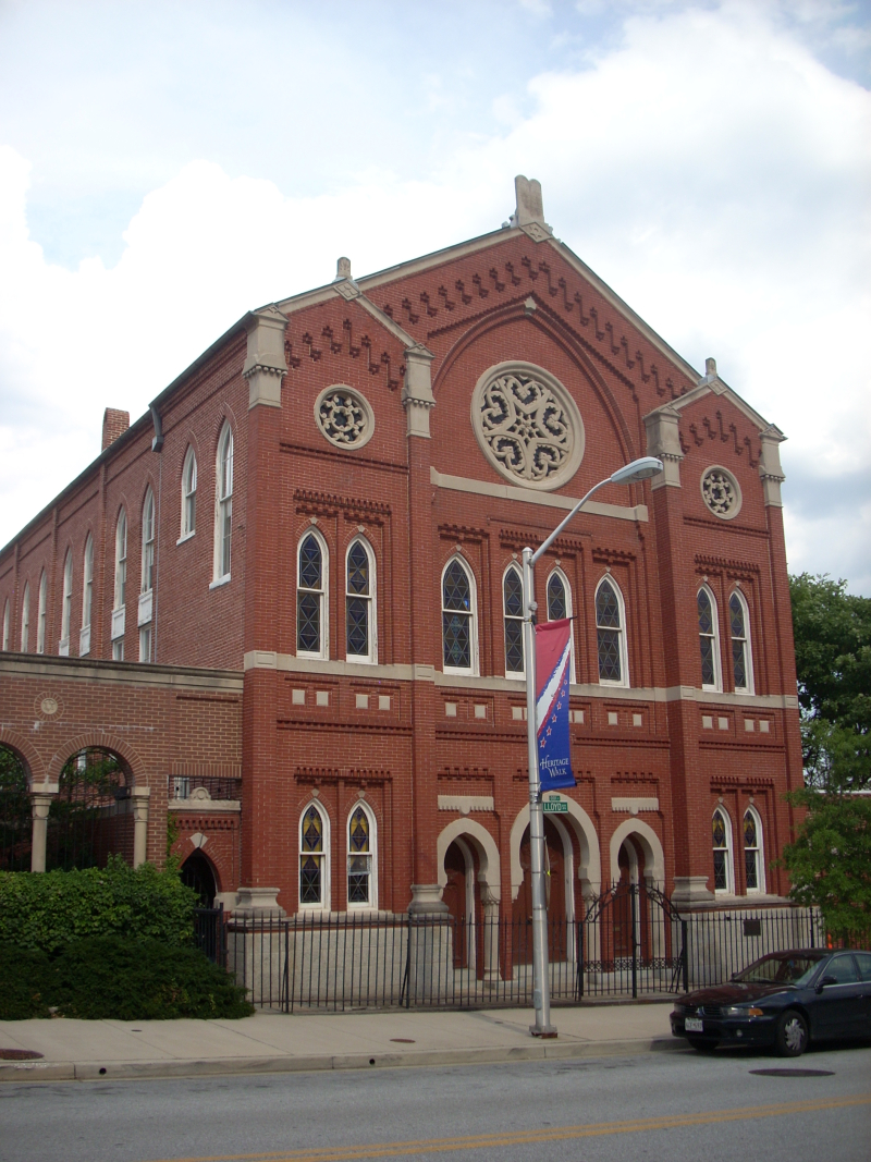 Chizuk_Amuno_Synagogue _27_Lloyd_St. _Baltimore_City _Maryland