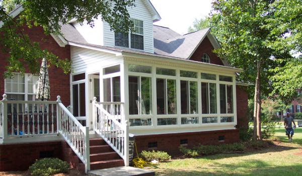 Sunroom Deck Combinations Home Improvement Tips